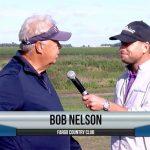 Bob Nelson being interviewed by Dave Schultz