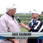 Dave Baumann being interviewed by Dave Schultz