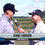 Kane Hanson being interviewed by Dave Schultz