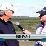 Tom Pratt being interviewed by Dave Schultz