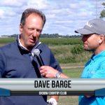 Dave Barge being interviewed by Dave Schultz
