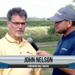 John Nelson being interviewed by Dave Schultz