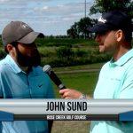 John Sund being interviewed by Dave Schultz