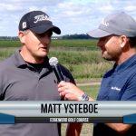Matt Ysteboe being interviewed by Dave Schultz