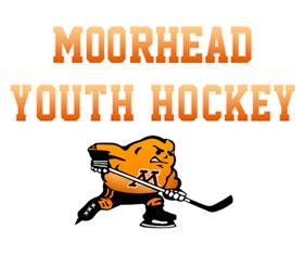 Moorhead Youth Hockey Chairty Logo