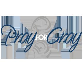 Pray for Gray Charity Logo