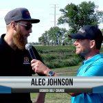 Alec Johnson being interviewed by Dave Schultz