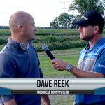 Dave Reek being interviewed by Dave Schultz