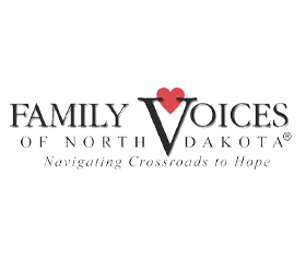 Family Voices of ND Logo