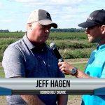 Jeff Hagen being interviewed by Dave Schultz