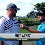 Mike Wentz being interviewed by Dave Schultz