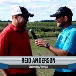 Reid Anderson being interviewed by Dave Schultz