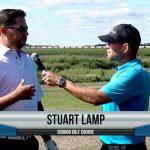 Stuart Lamp being interviewed by Dave Schultz